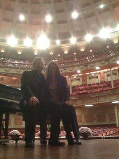 Sound Check at Carnegie Hall Performance