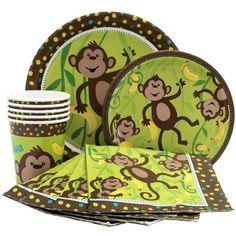 Monkey Party Supplies