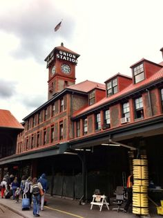 Union Station Amtrak (PDX) in Portland, OR This is where you would hop the train to Seattle!