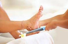 Cosmetische voetverzorging.