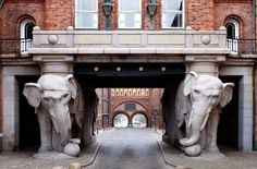Слоновьи ворота, Копенгаген, Дания