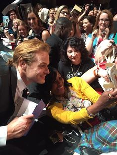 MQ Pics, Fan Pics and Screencaps of Caitriona Balfe, Sam Heughan, Tobias Menzies, Diana Gabaldon and Ron D. Moore during the PaleyFest Panel | Outlander Online