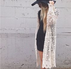 I loooooove it i want 😩 Moda Boho, Hippie Style, Boho Fashion, Short Sleeve Dresses, Lace, Outfits, Clothes, Tops, Swag