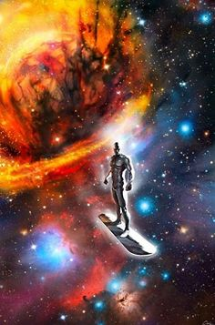 Silver Surfer and the Galaxy