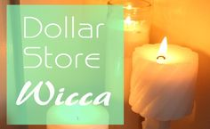 9 ritual and altar items to be found at a dollar store