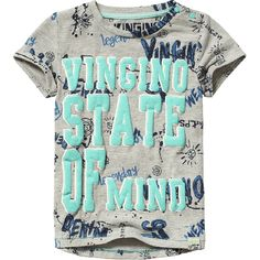 Vingino® T-shirt Harco Mini Light Grey Melee Spring/Summer collection 2017