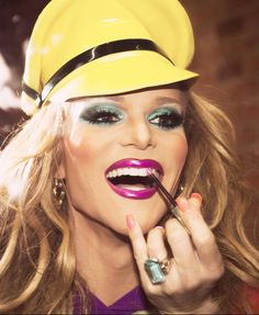 The fabulous Willam Belli from RuPauls Drag Race in our latex Muir Cap