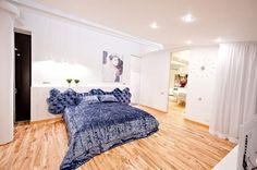 ta śliczna podłoga... w całym domu taka sama... super pomysł :)