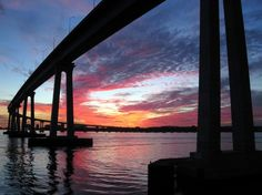 Captured this spectacular sunset near the 21st stanchion of the Coronado Bridge on the evening of 1/11/11. By reader Bugeater.
