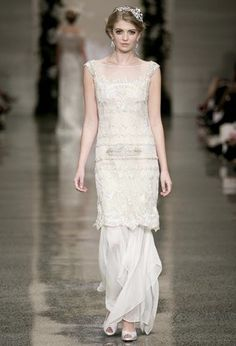 John Zimmermann bridal collection at NZ Fashion Week.