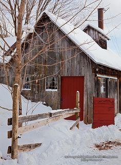 Sugar Shack - Marlborough, New Hampshire