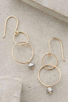 Anthropologie - Bubble Drop Earrings