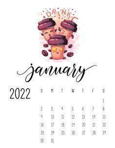 Funny Calendars, Cool Calendars, Cute Calendar, Print Calendar, Calendar Pages, Calendar Design, Planner Pages, Calendar Ideas, January Calendar