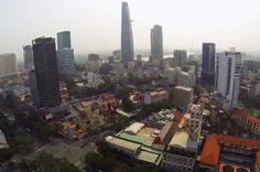 Drone video of Saigon