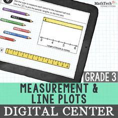 Measurement U0026 Line Plots   Power Point U0026 Google Version
