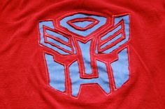 transformers #ash Wish I knew how to sew.  I'd make this for my son to wear on his birthday.
