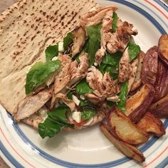 "Chicken Souvlaki Gyro Style I ""Very authentic Greek flavor! Love it and very easy."""