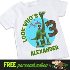 El cumpleaños de personalizado de 2S dinosaurio por swingNmonkeez