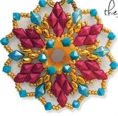 DiamonDuo Beads Purple Iris 8.5 Grams Diamond Duo by SweetBeadsLV