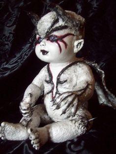 Horror Scary Creepy Fantasy Gothic Reborn Evil Doll | eBay