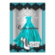 56 Mejores Imágenes De Invitacion De Quince Azul