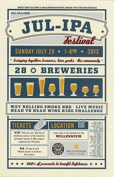 Come get yer hops fix! We're looking forward to #JULIPA #beerfestival #Boulder hosted by @West End Tavern Sunday 7/28. City Star will be pourin' 6 Shooter and Dead or Alive!