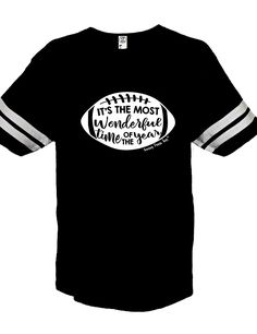 """""""Most Wonderful Time of the Year Vintage Black"""" Jersey"""