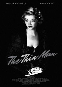 nora charles | The Thin Man--with the elegant couple, Nick and Nora Charles (played ...