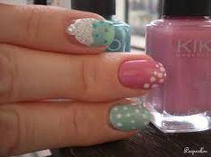 Nail art pastel ♥