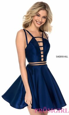 Sherri Hill dresses are designer gowns for television and film stars. Find out why her prom dresses and couture dresses are the choice of young Hollywood. Grad Dresses Short, Cute Prom Dresses, Long Prom Gowns, Elegant Dresses, Pretty Dresses, Homecoming Dresses, Evening Dresses, Casual Dresses, Formal Dresses