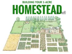 Building Your 1-Acre Homestead (or not)
