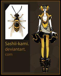 wasp by Sashiiko-Anti