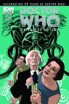 Next year, IDW are publishing a twelve issue mini-series as a fiftieth anniversary of Doctor Who project, each issue telling a story through the perspective of each of the character's incarnations, with companions associated with that Doctor. The first issue sees the Doctor, Ian and Barbara, the second will no doubt see Jamie join the Doctor.