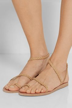 784c16e6f Ancient Greek Sandals - Eleftheria braided leather sandals