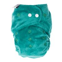 ITTI BITTI - Bitti Tutto One Size Diaper // Made in Australia. Very Trim & Snug fit diapers Fits 3kg - 20 kg!!!Comes with snap-in Bamboo soakers So far i love the softness of the soakers, the minky and its nice to have gussets all the way in the back as a poop fence.