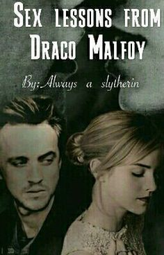 """Malfoy?"" I repeated.   ""Kiss me."" He said, suddenly. ""Might as well start now.""   He looked at me expectantly, so full of..."