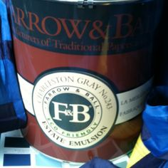 Farrow & Ball #paint in Charleston Grey