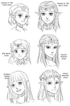 Twilight Princess Princess Zelda looks mad as hell