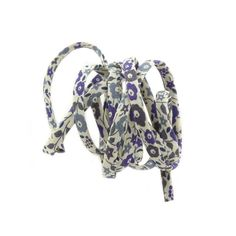 Liberty of London 4mm cord in 'Fairford' print. Buy yours at Beads Jar UK.