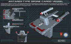 Antares Type Drone ortho [New] by unusualsuspex.deviantart.com on @DeviantArt