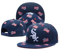 Chicago White Sox USA Flag Navy Snapback Hats|only US$6.00 - follow me to pick up couopons.