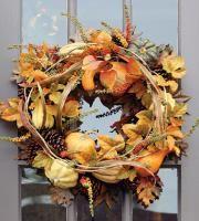 DIY wreaths for the front door