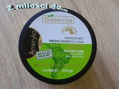 Z miłości do.... kosmetyki & lifestyle: Zielony peeling solny.