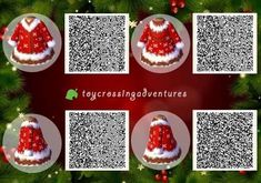 Mayor of Many Towns — Christmas Collection Another Christmas design. Animal Crossing 3ds, Animal Crossing Qr Codes Clothes, Christmas Town, Christmas Design, Gaara, Motif Acnl, Ac New Leaf, Post Animal, Animal Games