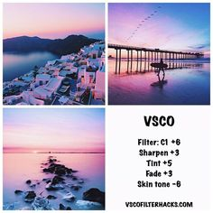 50 VSCO Filter Hacks for Travel - Rizanoia - Travel tips - Travel tour - travel ideas Feeds Instagram, Pink Instagram, Foto Instagram, Instagram Beach, Instagram Themes Vsco, Instagram Apps, Vintage Instagram, Instagram Travel, Fotografia Vsco
