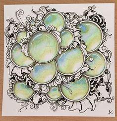 Dit is de tekening met Gems waar ik een video van heb gemaakt! https://youtu.be/ZaAl-9zQq4g #inkart #drawing #illustration #zentangle #zengems #gems #gemstones #edelstenen