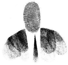 Saul Steinberg - From The Passport, 1954