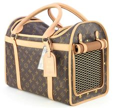 LV dog carrier