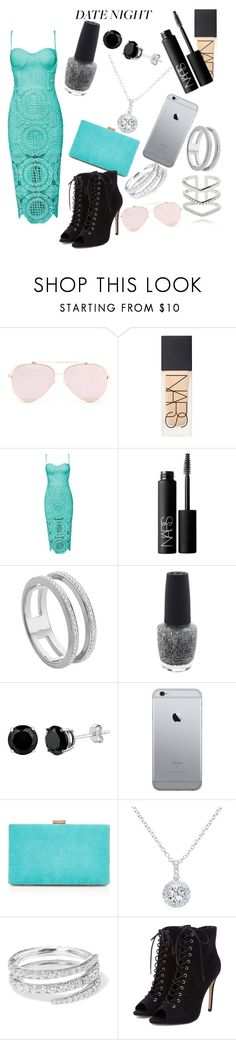 """Date night"" by paige2206 ❤ liked on Polyvore featuring NARS Cosmetics, Monica Vinader, OPI, New Look, EWA, Anita Ko and Astrid & Miyu"