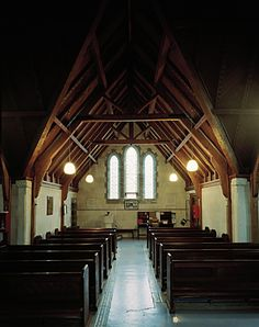 St Luke's #1 - Image Luke 1, 1 Image, Place Of Worship, Pathways, New Zealand, Photographers, Saints, Interiors, Architecture